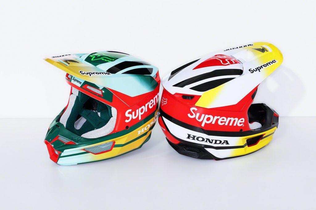 Supreme x Honda x Fox Racing V1 Helmet
