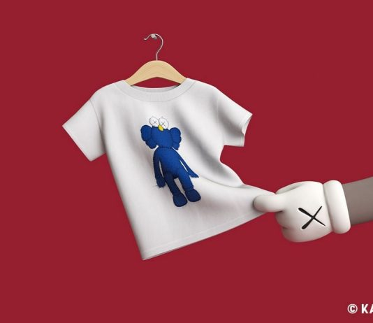 Kaws Tee Official Image