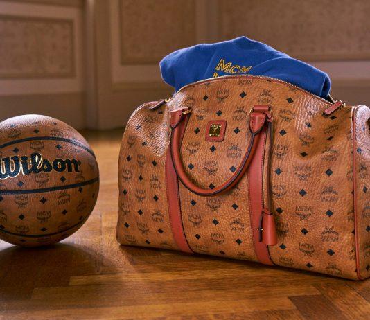 MCM Wilson Basketball and Duffel Bag