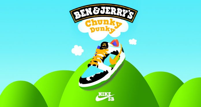 Nike Chunky Dunky Ben and Jerry's Dunk