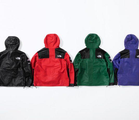 Supreme x TNF Jackets